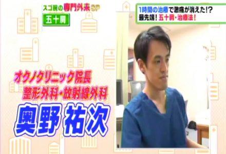 2017年11月28日 TBS「予約殺到!スゴ腕の専門外来SP!!」放映!