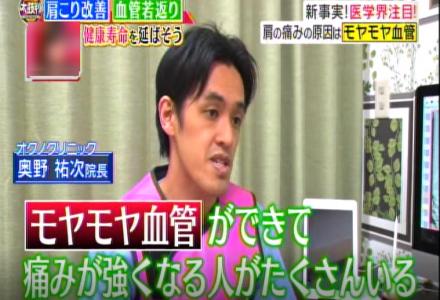 2018年7月16日 TBS 「名医のTHE太鼓判!」放映